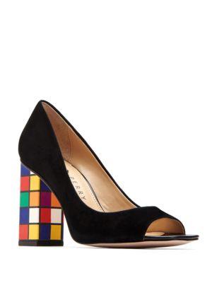 Caitlin Peep Toe Pump Heels by Katy Perry