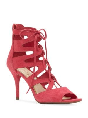 Mitta Gladiator-Inspired Cage Sandals by Jessica Simpson