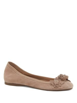 Meciah Suede Dress Flats by Jessica Simpson