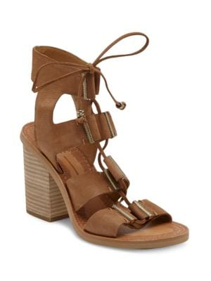 Photo of Witley Lace-Up Leather Sandals by Dolce Vita - shop Dolce Vita shoes sales