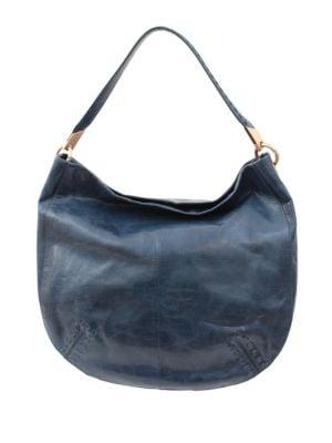 Violetta Leather Hobo Bag by Foley + Corinna
