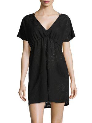 V-Neck Swim Dress Cover Up by J Valdi