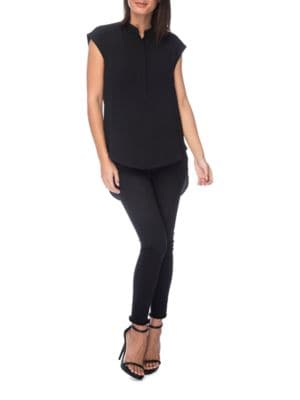 Solid Hi-Lo Top by B Collection by Bobeau