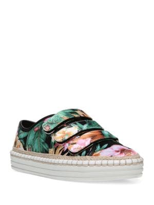 Grove Espadrille Floral-Print Sneakerds by Fergie