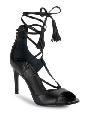 Mira Leather Sandals by KENDALL + KYLIE