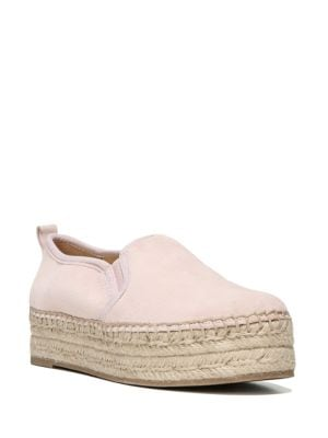 Carrin Suede Espadrille Platforms by Sam Edelman