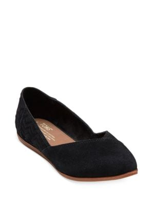 Jutti d Orsay Suede Flats by TOMS