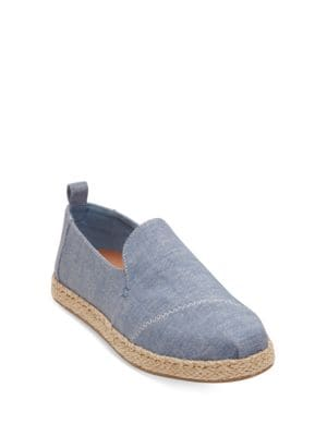 Deconstructed Canvas Espadrille Alpargatas by TOMS