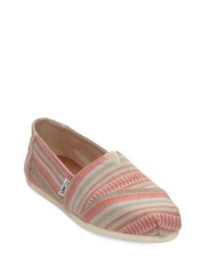 Buy One For One Seasonal Classic Canvas Alpargates by TOMS online