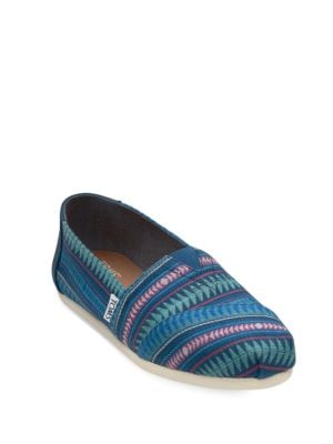 Seasonal Alpargata Canvas Slip-On by TOMS