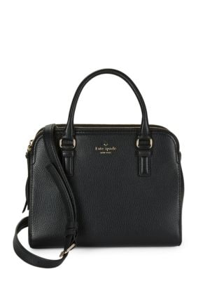 Zippered Leather Satchel by Kate Spade New York