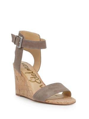 Willow Suede Wedge Heel Sandals by Sam Edelman