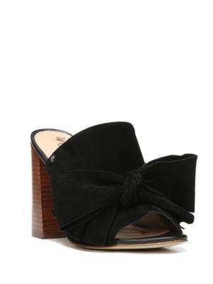 Yumi Suede Slide Sandals by Sam Edelman