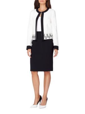 Two-Piece Top and Skirt by Tahari Arthur S. Levine