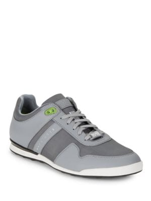 Contrast Lace-Up Sneakers by HUGO BOSS