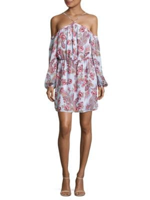 Paisley Halter Dress by Wayf