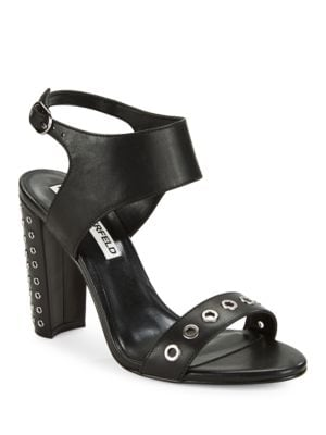 Leola Grommet-Accented Sandals by Karl Lagerfeld Paris