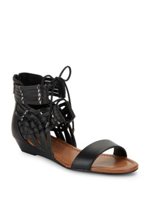 Lourra Woven Vamp Sandals by Jessica Simpson