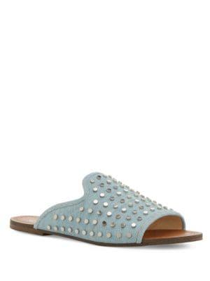 Kloe Studded Slide Sandals by Jessica Simpson