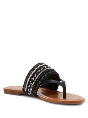 Ronette Beaded Sandals by Jessica Simpson