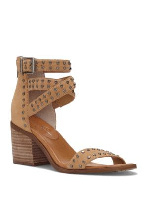 Roksanna Studded Leather Sandals by Jessica Simpson