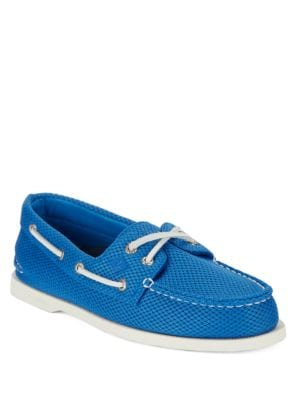 Mesh Boat Shoes @...
