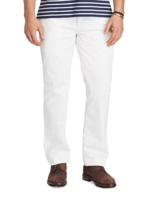 Solid Cotton Chinos by Polo Big And Tall