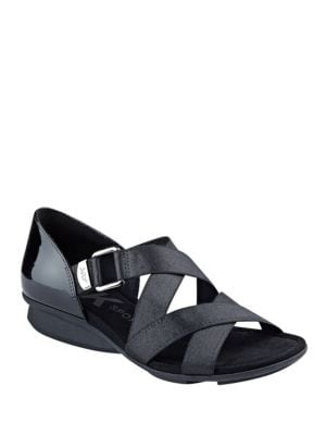 Kanelle Crisscross Sandals by Anne Klein