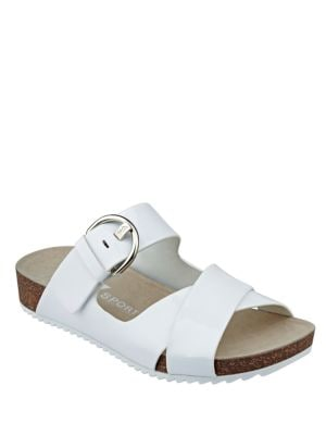 Querly Sport Buckle Strap Sandals by Anne Klein