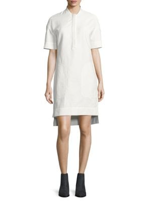 Solid Drop-Shoulder Dress by Dkny Pure