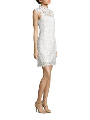 Venise Scalloped Lace Dress by Laundry by Shelli Segal