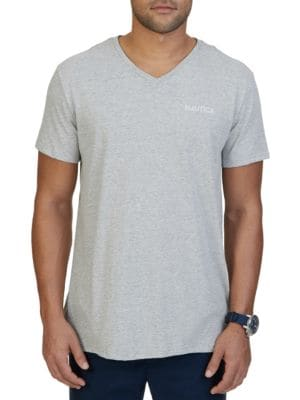 Printed-Back Cotton Tee by Nautica Big And Tall