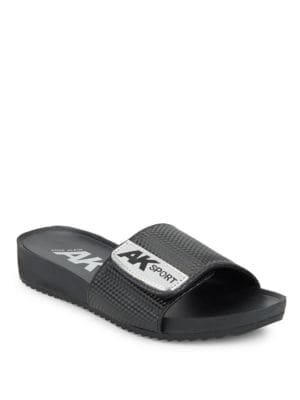 Quen Slide Sandals by Anne Klein