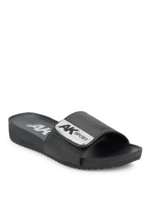 Buy Quen Slide Sandals by Anne Klein online