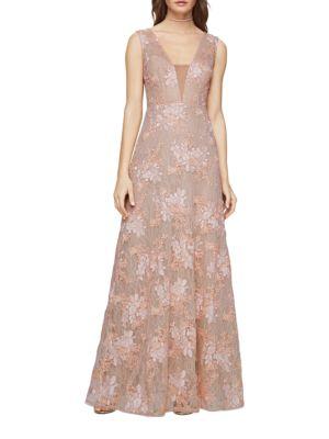 Brea Lace Gown by BCBGMAXAZRIA