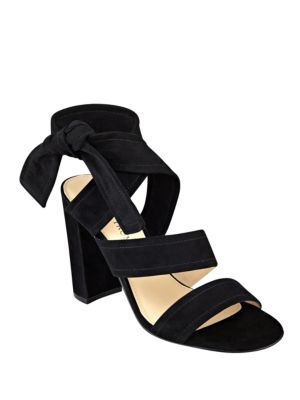 Kiffie Suede Sandal High-Heels by Ivanka Trump