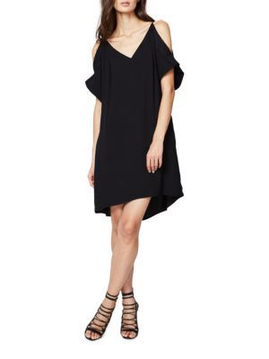 Solid Cold Shoulder Dress by RACHEL Rachel Roy