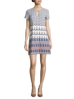 Printed Cutout Dress by Jessica Simpson