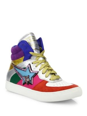 Eclipse Colorblock High-Top Sneakers by Marc Jacobs