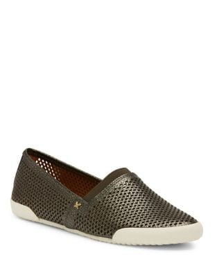 Melanie Perforated Leather Sneakers by Frye