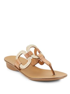 Lanai Leather Sandals by Paul Green