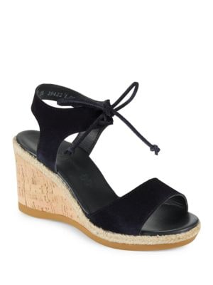Melissa Suede Platform Sandals by Paul Green