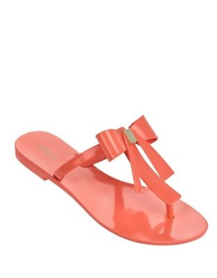 T-Bar Thong Sandals by Melissa