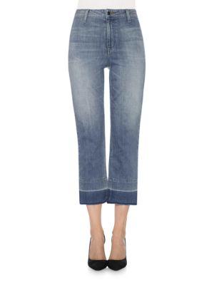 High-Rise Cropped Denim Pants by Joe's Jeans