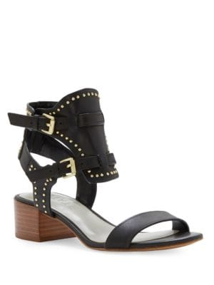 Studded Ankle Buckle Sandals by 1.STATE
