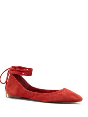 Skkylar Ankle-Tie Flats by 1.STATE
