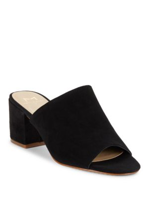 Rain Suede Mules by Marc Fisher LTD
