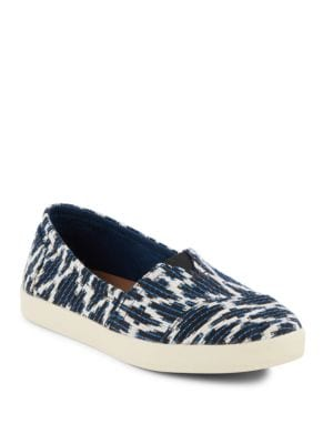 Avalon Abstract Print Slip-Ons by TOMS