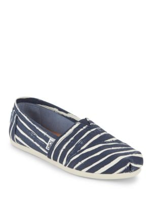 Alpha Season Cotton Slip-On Sneakers by TOMS