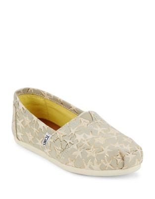 Alpargata Seasonal Classic Star Slip-Ons by TOMS